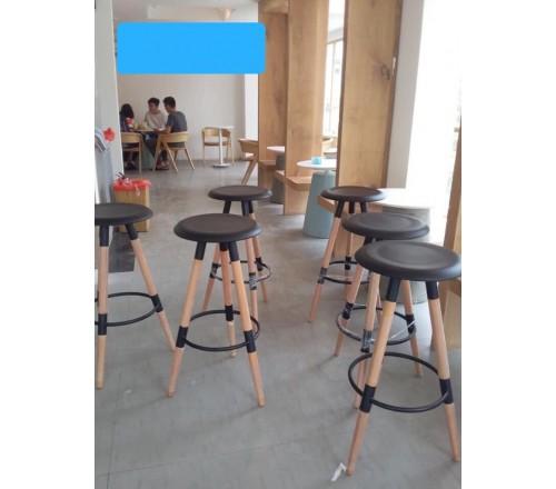 Ghế quầy bar gỗ tk6001