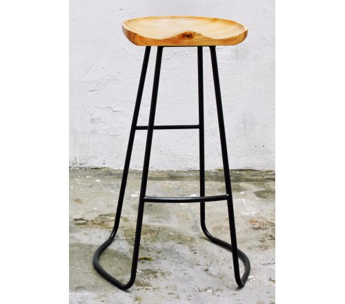 Ghế quầy bar mặt gỗ tk6004