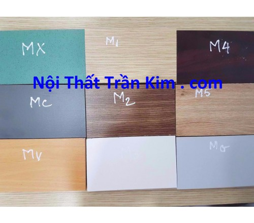 Bảng màu gỗ melamine